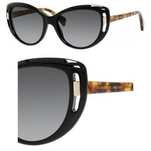 Alexander McQueenAlexander McQueen 4238S 2JG Black Havana 4238S Cats Eyes Sunglasses Lens Catego