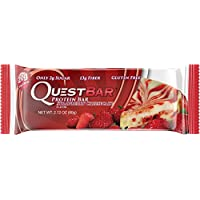 12 Count Quest Nutrition Strawberry Cheesecake Protein Bar