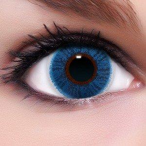 lenzera intense 39 sapphire 39 blaue farbige kontaktlinsen f r. Black Bedroom Furniture Sets. Home Design Ideas