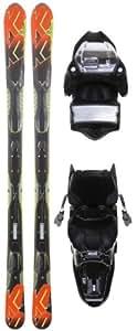 K2 A.M.P. Impact Skis w/ Marker M3