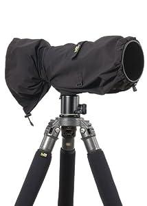 LensCoat LCRSLBK RainCoat RS for Camera and Lens, Large (Black)