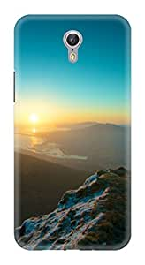 Generic Hard Printed Back Cover for Lenovo Zuk Z1 (Multicolor)