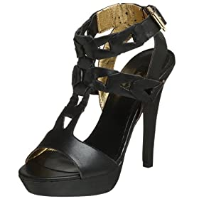 Endless.com: N.Y.L.A. Women's Rits Ankle-Strap Sandal: Categories - Free Overnight Shipping & Return Shipping :  bootie return nyla womens apparel