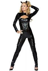Queen of Felines Costume - Medium/Large - Dress Size 6-10