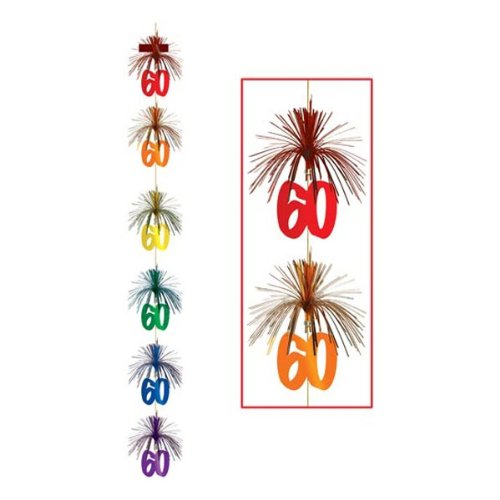 60 Firework Stringer Party Accessory (1 count) (1/Pkg)