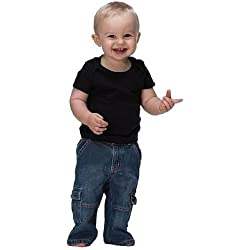 Bella Infant 100% Cotton 5.8 oz T-Shirt w/lapped shoulders