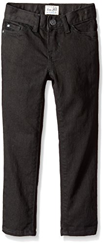 The Children's Place Little Girls' Super Skinny Jean, Black Wash, 4