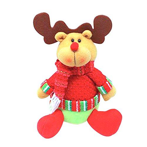Eizur Babbo Natale Bambola Christmas Decorazioni Ornamento capretto bambino Regalo Festa di compleanno Decor Taglia