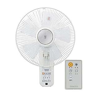 山善(YAMAZEN) 30cm壁掛扇風機(リモコン)(風量4段階)入切タイマー付 ホワイト YWX-K302(W)