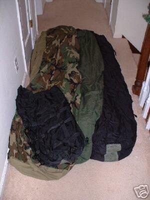 4 Piece US Military Goretex Modular Sleeping Bag System