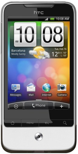 HTC Legend A6363 Unlocked GSM Android Based Smartphone with 5 MP Camera, Wi-Fi, gps navigation, Touchscreen and Bluetooth -- International Version with No Warranty (Silver)