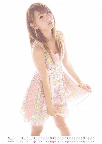 ハゴロモ 2013年ベストヒットカレンダー 志村理佳(SUPER☆GiRLS) [CL-232]