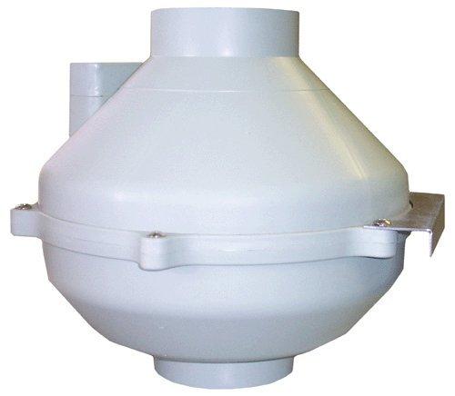 Pvc Inline Exhaust Fan : Directfans quot inline fan