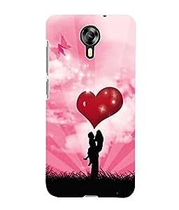Fuson 3D Printed Valentine Designer Back Case Cover for Micromax Canvas Xpress 2 E313 - D624