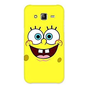 Gorgeous Spong Yellow Back Case Cover for Samsung Galaxy J5