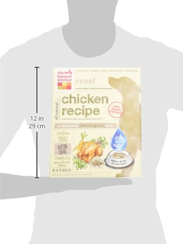 The Honest Kitchen Revel Chicken and Whole Grain Dog Food, 10-Pound_Image5