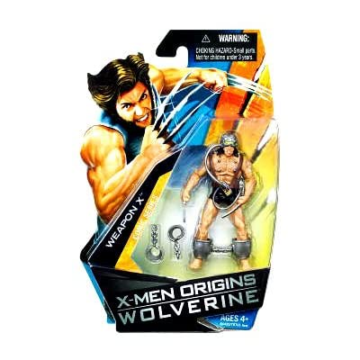 X-Men Origins Wolverine – Comic Series – WEAPON X – 3 3/4 Inch / 10cm Action Figur – OVP online kaufen