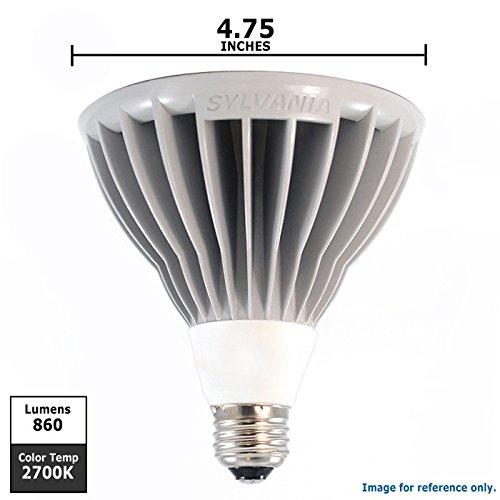 Sylvania 78657 - Led18Par38/Dim/827/Nfl25 Par38 Flood Led Light Bulb