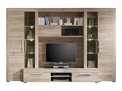 Ikea wohnwand ahorn interessante ideen f r for Wohnzimmerschrank ahorn