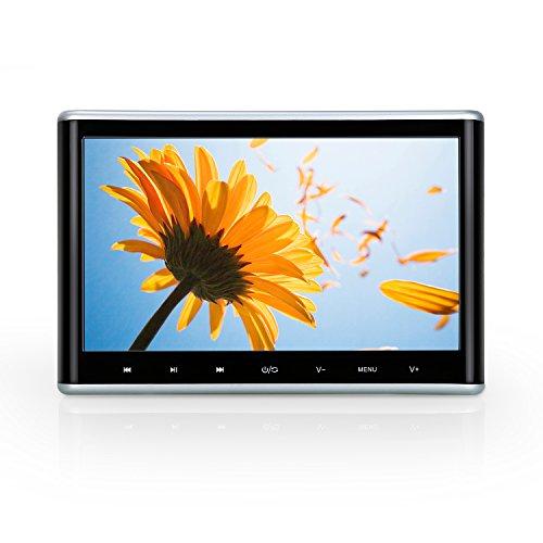 NAVISKAUTO-101-HD-Kopfsttzenmonitor-Kopfsttze-Auto-DVD-Player-Monitor-DVD-Memory-Touch-Taste-Ultra-Dnn-TFT-LCD-Bildschirm-FM-Untersttzt-1080P-30Fps-Video-HDMI-Funktion-USB-Speicher-SD-Karte-Fernbedien