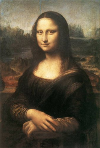 Paintings of Leonardo da Vinci formatted for Kindle