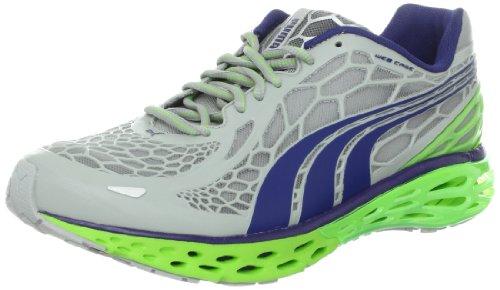 PUMA Men's BioWeb Elite Running Shoe, High Rise/Twilight B, 10 M US PUMA Leather & Suede autotags B008F18990
