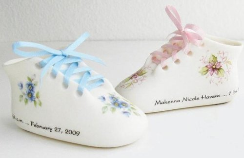 Personalized Baby Shoe front-1076696