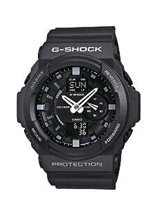 Casio Gents G-Shock Black Rubber Strap Watch