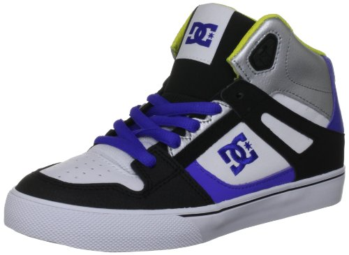 DC Shoes Kids Spartan High Fashion Sports Skate Shoe