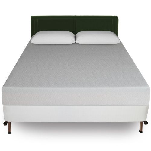 For Sale! Sleep Master 8-Inch Memory Foam Mattress and Bi-Fold Box Spring Set, Queen