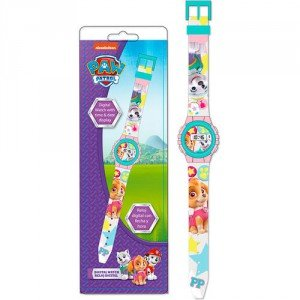 Paw Patrol - Skye reloj digital en blíster (Kids PW16192)