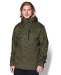 Under Armour Men\'s UA Storm ColdGear Infrared Porter 3-in-1 Jacket Medium GREENHEAD