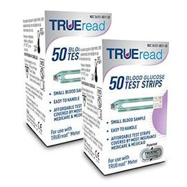 TRUEread Glucose Test Strips - 100 ct.