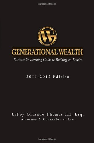 Generational Wealth: Business & Investing Guide