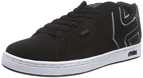 EtniesFADER - Sneaker uomo , Nero (Schwarz (BLACK/WHITE/GREY)), 45