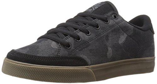 C1RCA Men's AL50 Skateboarding Shoe, Black/Camo/Gum, 11 M US
