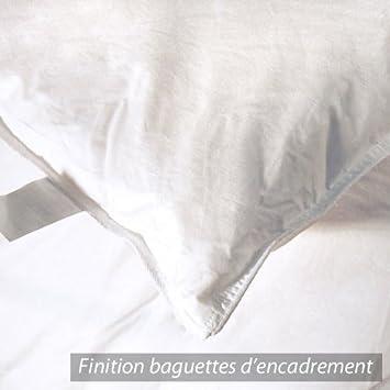 couette 240x220 cm picardie duvet d 39 oie et plumettes plumettes 500 g m2 cuisine maison. Black Bedroom Furniture Sets. Home Design Ideas