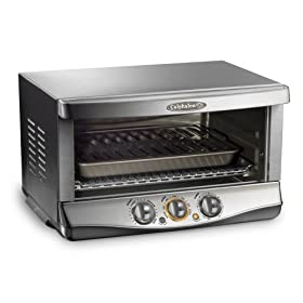 Calphalon HE650CO XL 1400-Watt 0.7-Cubic-Foot 6-Slice Convection Oven