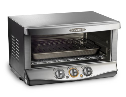 Calphalon HE650CO XL 1400-Watt 0.7-Cubic-Foot 6-Slice Convection Oven