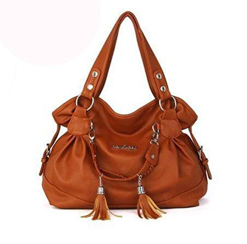 koson-man-womens-patent-leather-boutique-matel-tassels-tote-bags-top-handle-handbagorange