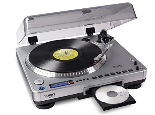 Great Features Of Ion USB Turntable with Built-in CD Recording