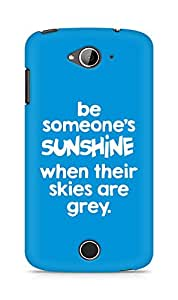 AMEZ be someone's sunshine when their skies are grey Back Cover For Acer Liquid Z530
