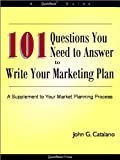 img - for 101 Questions to Write Your Marketing Plan book / textbook / text book