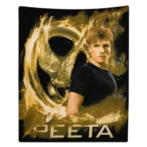 Hunger Games Peeta Throw Blanket and Pillowcase