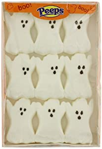 Ghosts Marshmallow Peeps 9ct.