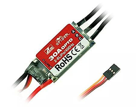 Goliton® ZTW Spider-Series 30A OPTO Brushless ESC 3S-6S pour Multi-Rotor Helicopter