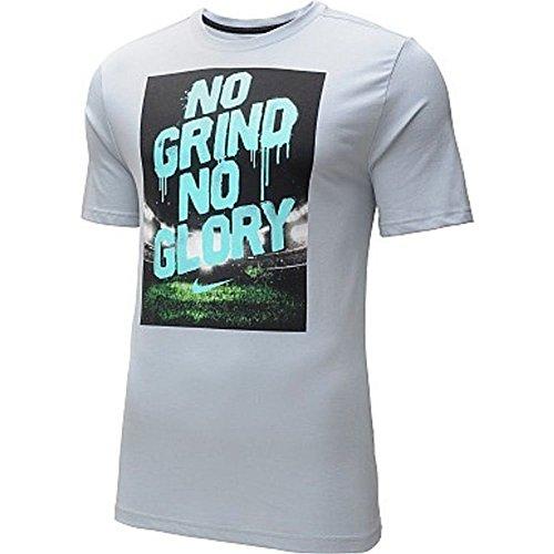 Nike No Grind Dri-fit T-shirt Light Medium Grey Xl