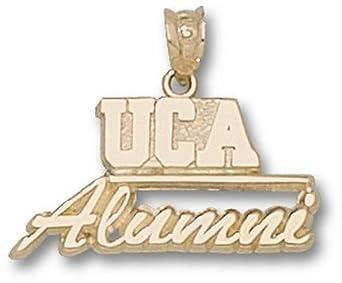 Central Arkansas Bears UCA Alumni Pendant - 14KT Gold Jewelry by Logo Art