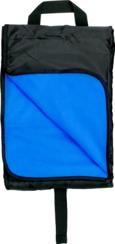 Simplicity 12Pc Wholesale Pack Water Resistant Fleece Picnic Blanket - Royal front-1068985