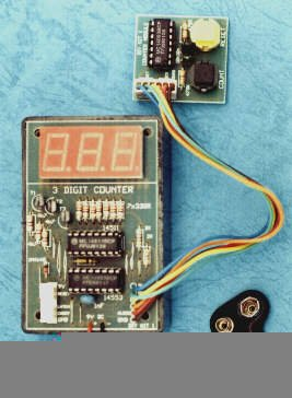 3 Digit Led Counter (Incl Box)
